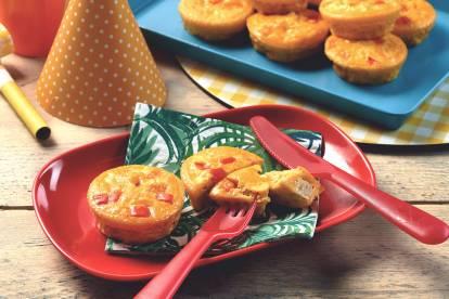 Quorn Pieces Mini Crustless Quiches