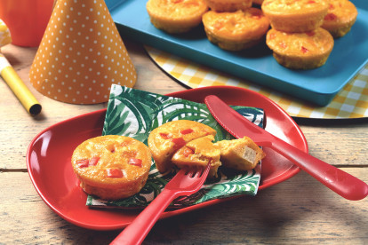 Vegetarian Mini Quiche Recipe Kids Party Food Ideas Quorn