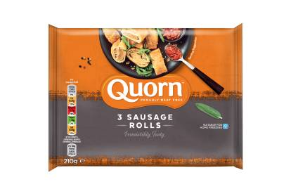 meat free quorn 3 sausage rolls