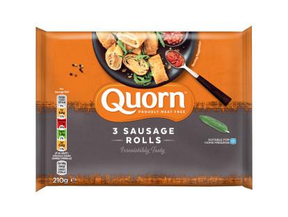 Quorn 3 Sausage Rolls