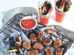 Veganska nuggets med hemgjorddip - recept
