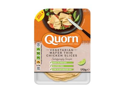 quorn vegetarian wafer thin chicken slices