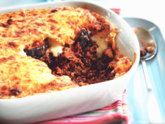 Recept voor Vegetarische Moussaka metAubergine