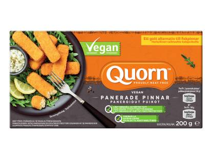 Quorn Vegan Panerade Pinnar