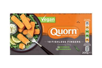 Quorn Vegan Fishless Fingers