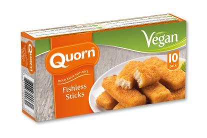 Quorn Vegan Fishless Sticks