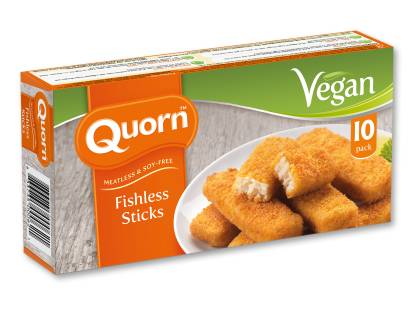 Quorn Vegan Fishless Sticks