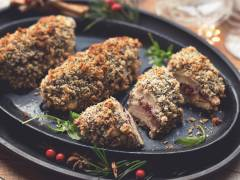 quorn fillet chicken kiev recipe with goats cheese meat-free recipe