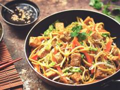 Chow Mein with Quorn Meat Free Pieces
