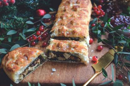 vegan wellington with quorn pieces recipe