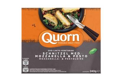meat free quorn mozzarella & pesto escalopes