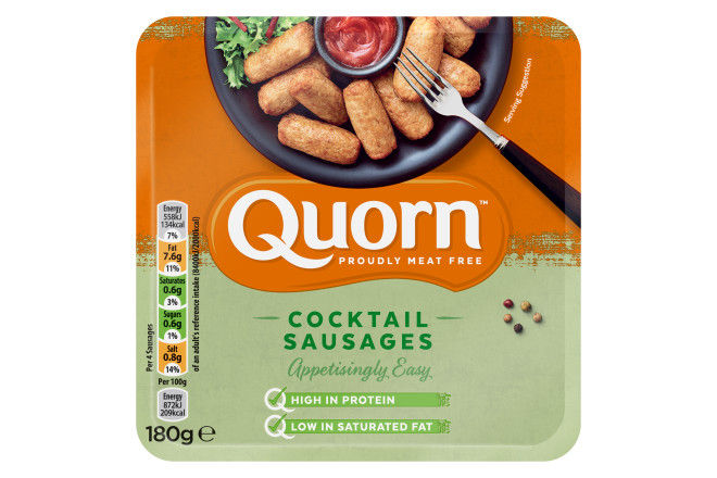 Quorn Meat Free Cocktail Sausages