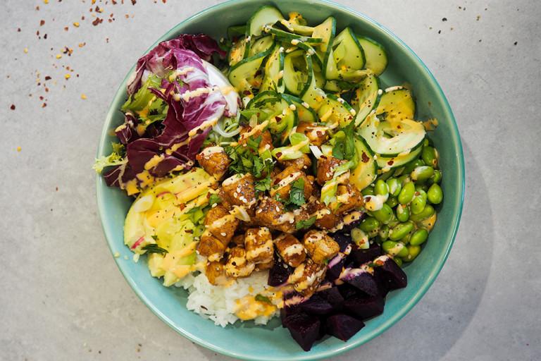 Quorn x Florette Vegan Pieces Buddha Bowl