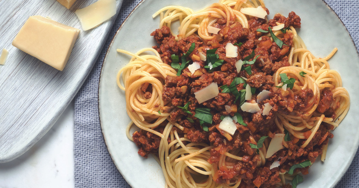 Spaghetti Bolognese Recipe How To Make It With Quorn