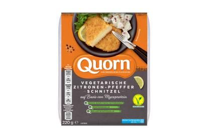 Quorn Vegetarische Zitronen-Pfeffer-Schnitzel
