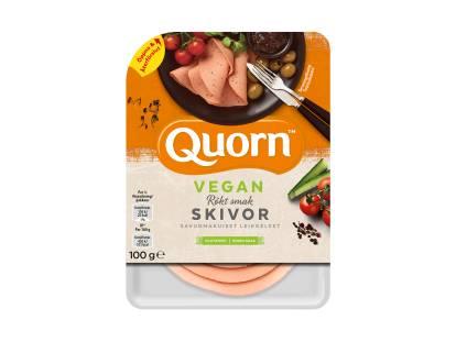 Quorn Vegan Pålägg - Skivor med Rökt Smak