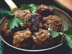 Quorns vegetariske julefrikadeller