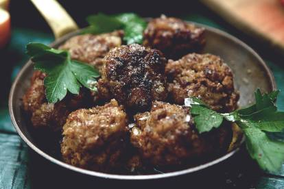 Easy Meatballs made with Quorn Mince