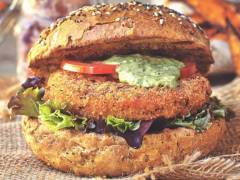 Quorn Vegan Meatless Spicy Patties with bbq beans recipe