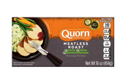 frozen meatless quorn roast
