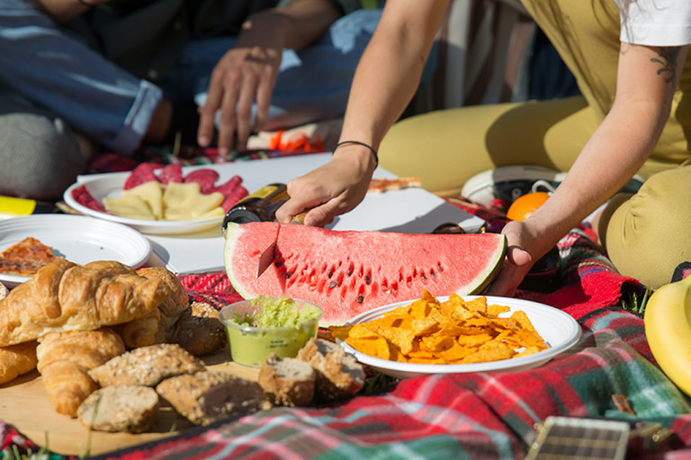 How to Host an Indoor Picnic by Esme Carr