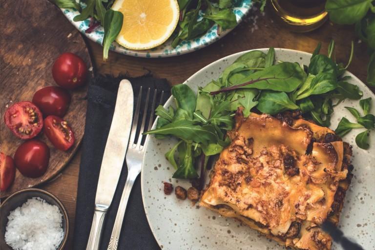 Supersimpele vegetarische lasagne met Quorn Fijngehakt