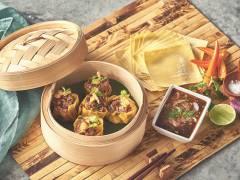 Quorn Larb Dumpling