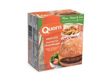 Meatless Gourmet Pub Cheeseburger