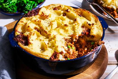 quorn cottage pie vegetarian family recipe