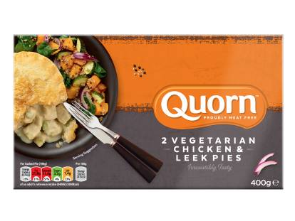 Quorn Vegetarian Chicken & Leek Pie