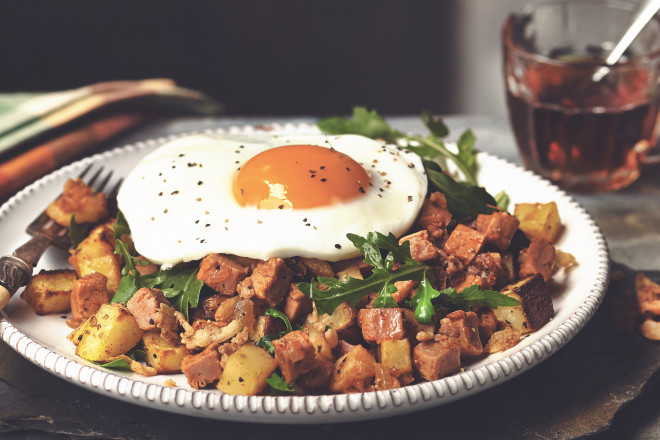 Quorn Meat Free Bacon Hash