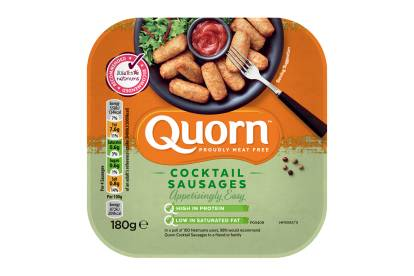 meat free quorn cocktail sausages