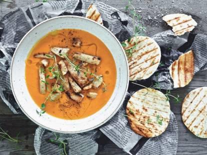 Ovo-vegetarisk Sötpotatissoppa - recept