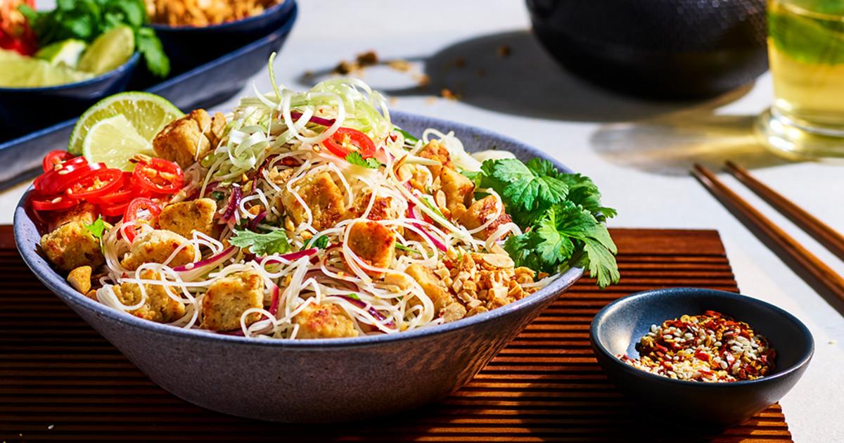 Vegetarian Pad Thai Recipe Quorn