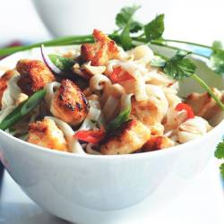 Pad Thai with Quorn Meatless Pieces
