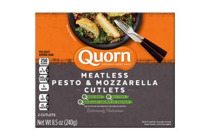 Quorn Meatless Pesto & Mozarella Cutlets