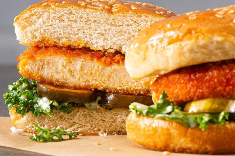 Air Fryer Nashville Southern Fried Sandwich