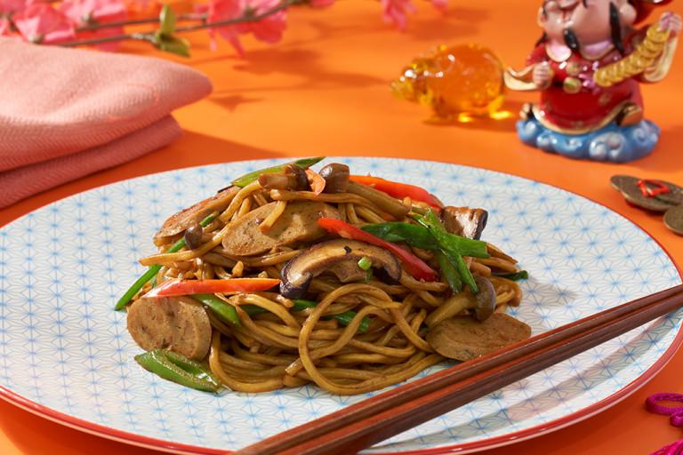 Joyous Braised Longevity Noodles