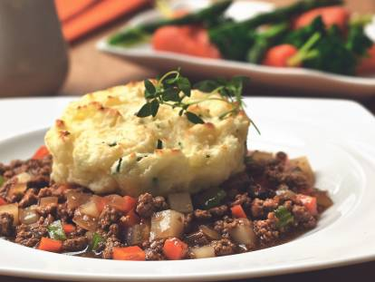 quorn deconstructed vegetarian cottage pie recipe