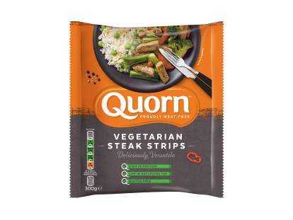 quorn frozen vegetarian steak strips