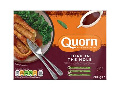 Quorn Meat Free Sausages Toad in the Hole