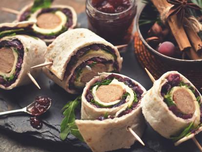 Tortilla con Salsiccia Quorn