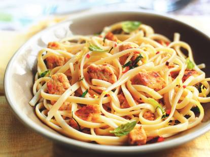 Vegetarisk Pasta med Citron & Chili - recept