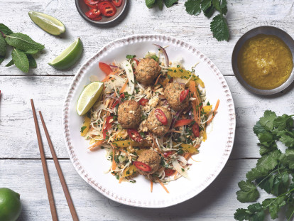 Quorn Aromatic Thai Bites Shredded Salad