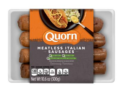quorn meatless italian sausages
