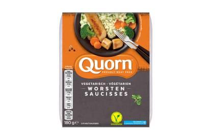 Quorn vegetarische worsten