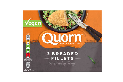 1包Quorn純素吉列魚塊