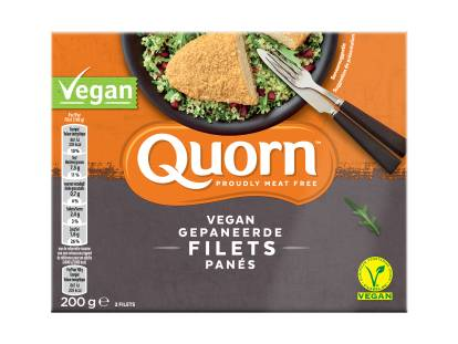 Quorn Vegan Gepaneerde Filets