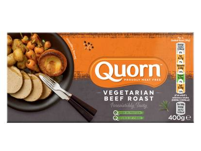 frozen quorn vegetarian beef roast