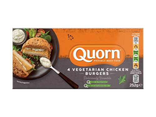 Quorn Vegetarian Chicken Burgers